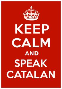 Keep calm speek catalan