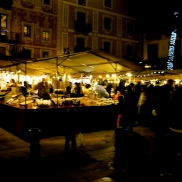 Markt für weihnachtliche Süßigkeiten
