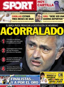 Titelseite Sport 26. Januar 2013