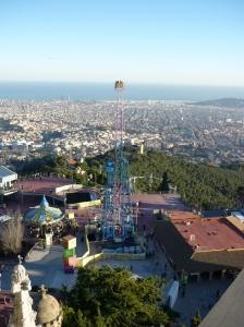 Freizeitpark auf dem Tibidabo