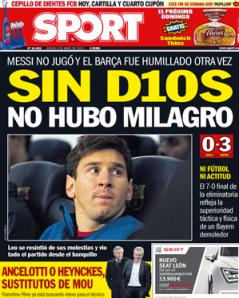 Titelseite Sport