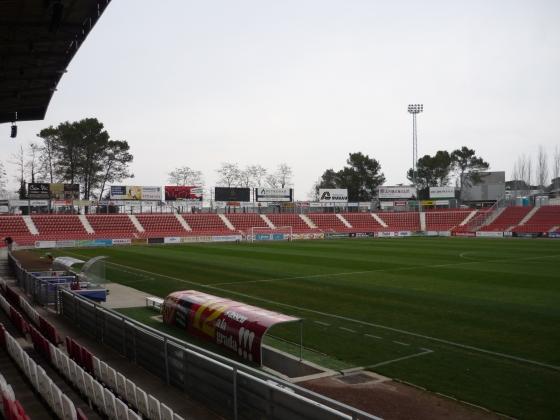 9.300 Besucher passen ins Stadion Montilivi des FC Girona.