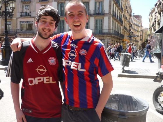 """""""Leider haben wir keine Karten. Aber unser Herz schlägt für Bayern."""""""