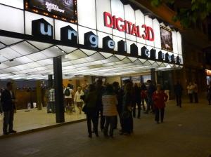 Urgell Cinema Barcelona