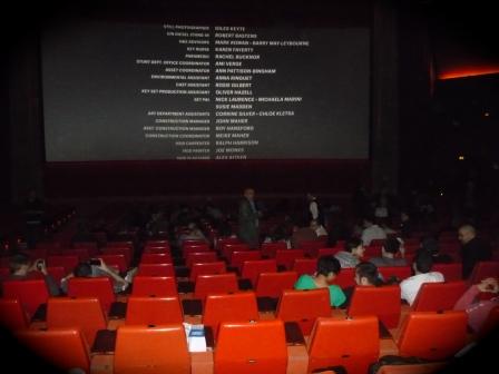 Letzter Abspann Cine Urgell