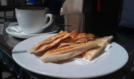 Bikini - Schinken-Käse-Sandwich