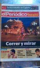 Titel El Periódico Verano 17/08