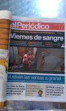Titel El Periódico 17/08
