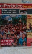 Titel El Periódico Verano 16/08
