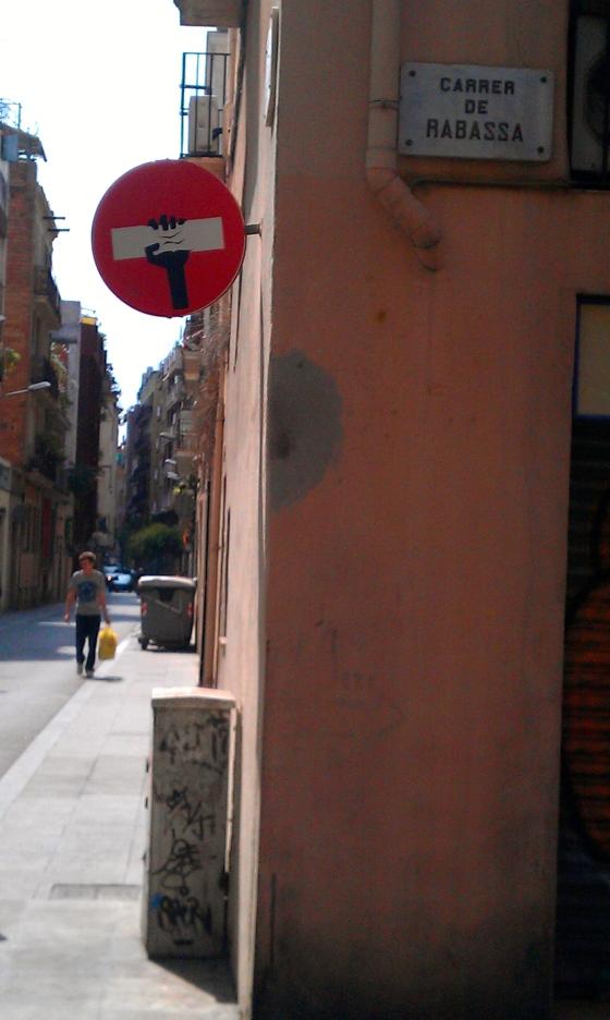 Clet Abraham in Barcelona II