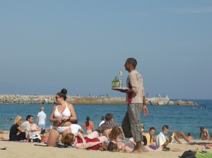 Mojitos am Strand von Barceloneta