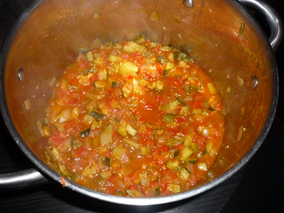 Samfaina - katalanischer Gemüseeintopf