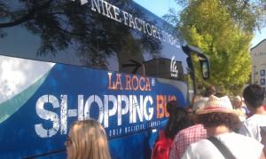 Shopping Bus des Busunternehmens Sagalés