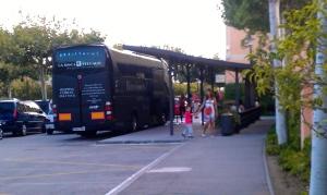 Shopping-Express des Roca Village
