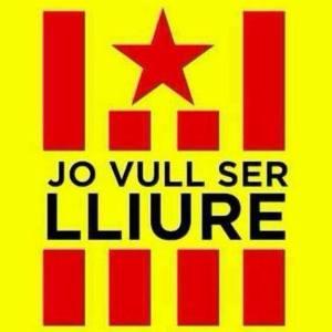 Viele katalanische Facebook-Nutzer haben diese Grafik bereits zu ihrem Profilbild gemacht.